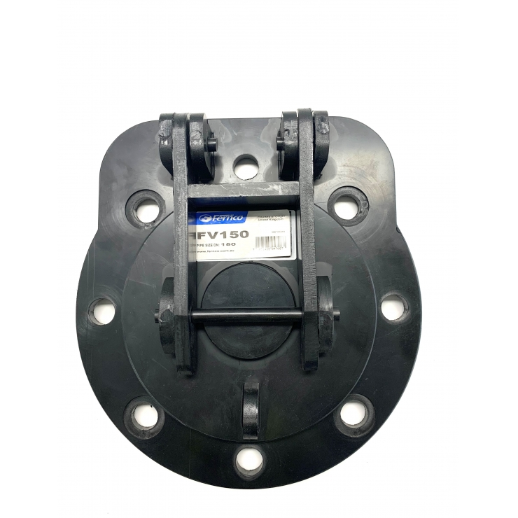 Fernco Wall Mounted HDPE Flap Valves